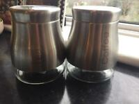 Tea and Coffee Storage Pots