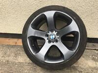 "Single 19"" Alloy wheel with very good tyre"