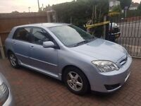 Toyota Corrola 1.4 Petrol T3 VVTI. Colour Collection.54 Plate, Full 12 Months Mot