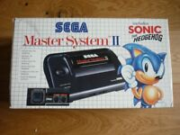 Sega Master System 2 Boxed Sonic the Hedgehog Console in Very Good Condition