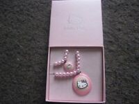 BRAND NEW HELLO KITTY BRACELET AND NECKLACE