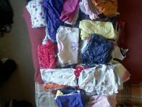 huge bundle of girls clothes age 9 mths to 18 months