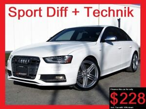 2013 Audi S4 SPORT DIFF+TECHNIK+NAVIGATION+LOADED