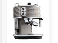 New Delonghi Scultura Coffee Machine