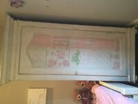 Shabby chic Wardrobe and cupboard 'Annabelle' from Barker and Stonehouse ideal for girls bedroom