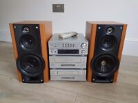 Sanyo Stereo - separate mini system - for sale
