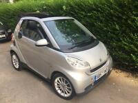 Smart Fortwo convertible 451 57 reg £30 tax