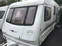 Compass magnum 630 2003 twin axle 5 berth touring caravan