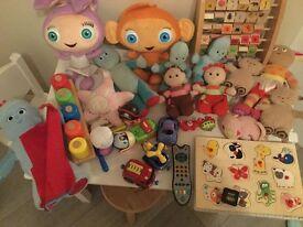 Large bundle 1+ toys