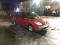 Megane scenic 1.6 dynamique, long mot ideal cheap family car or general run about.
