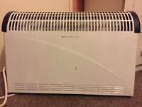 Challenge 3kw convector turbo heater with timer,