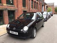 Black VW Lupo 1L 89,000 miles