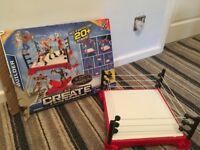 Create WWE Builder set