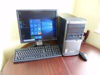Acer Veriton M464 Computer / Desktop PC / workstation, with Windows 10 Professional