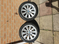 Genuine BMW Alloy Wheels and Winter Tyres