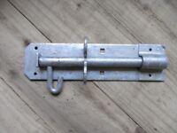 Heavy brenton padlock bolt 200mm