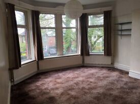 Spacious Two bedroom unfurnished first floor flat