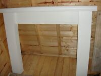 Fire Surround with Marble back and Hearth BARGAIN Must be seen