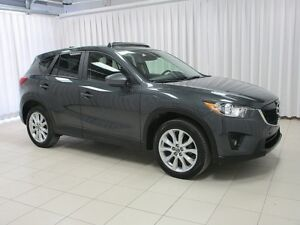 2015 Mazda CX-5 Grand Touring! Leather! Nav! Sunroof! Back-up Ca