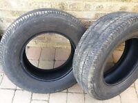2 x Continental Vanco 215/70R15 C 109/107S Tyres