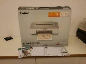 Canon pixma MG 2450 printer