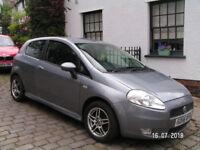 Fiat Punto Sporting M-JET. Diesel Hatchback. 56 Plate.