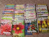 36 copies 'Gardeners' World' gardening magazine Subscriber edition 08/2010-07/2013