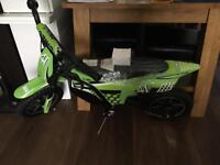 24v electric zinc bike new from halfords