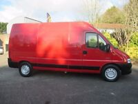 clean 2006 citroen relay 2.2 lwb. high roof.1 owner from new.