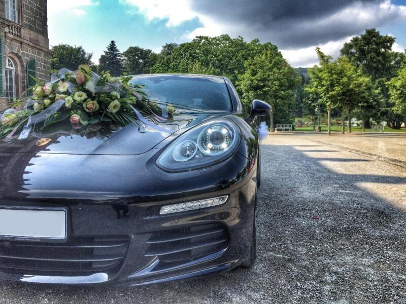 hochzeitsauto porsche panamera mieten in hessen. Black Bedroom Furniture Sets. Home Design Ideas