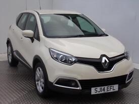 Renault Captur DYNAMIQUE MEDIANAV ENERGY TCE S/S (cream) 2014-03-20