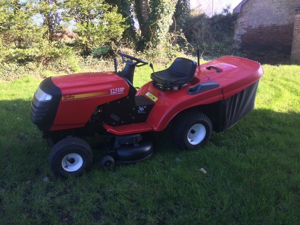 Rally 12 5hp Ride On Mower Lawn Tractor In Christchurch