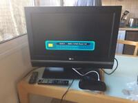 TV with free view box to sell