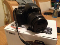 Canon EOS 550D /Rebel T2i 18.0MP Digital SLR Camera Boxed in excellent condition