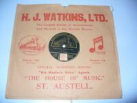 78 rpm record with local interest