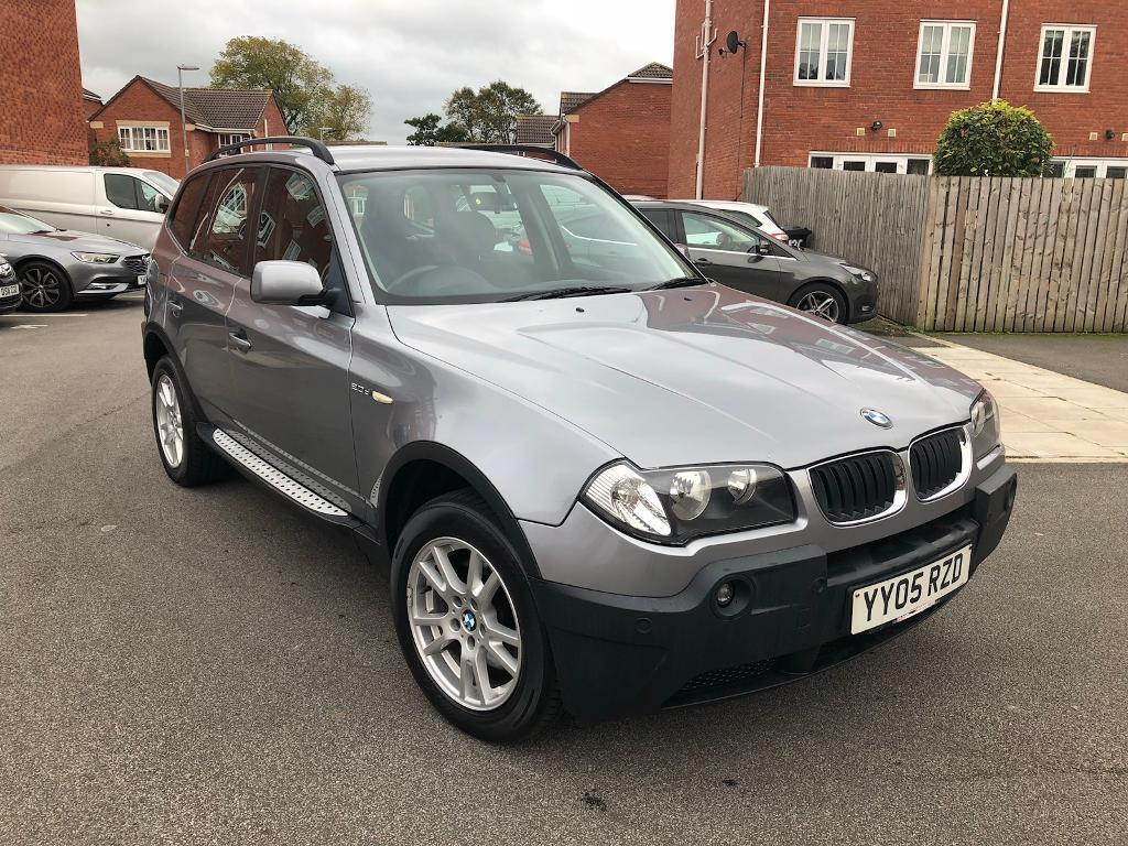 2005 BMW X3 2.0d SE MANUAL 5 DOOR SILVER FSH LONG MOT HPI CLEAR
