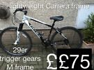 Carrera crossfire 29er mountain bike hybrid