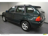 BMW X5 2002 '52' Reg Oxford Green Beige Full Leather in perfect condition