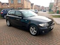 BMW 1 SERIES 118D SPORT DIESEL, MOT OCT 2017, FULL LEATHER, NEW CLUTCH, GOOD CONDITION, HPI CLEAR