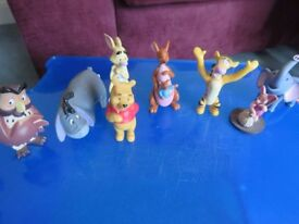 Lovely Collection of Winnie the Pooh Figures