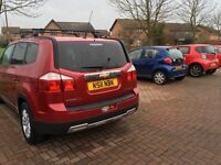 Automatic Chevy Orlando 7 seater MPV 2.0 Diesel