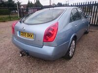 (CHEAP CAR) Nissan Primera 2005 (Not vauxhall, audi, bmw)