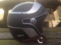Caberg Motorcycle Motorbike Open Face Plain Helmet S/55-56