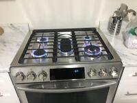 Appliances&gas line installation call Bikram for best deals