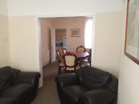 2 Bed furnished house. No Deposit, UPVC double glazed, Gas central heating.