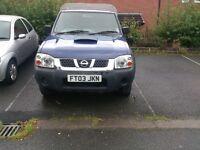 Nissan D22 Pickup.No Tax, MOT till Oct2016,
