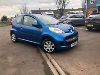 2009 PEUGEOT 107 AUTOMATIC 1.0- ONLY DONE 45K- COMES WITH 3 MONTHS WARRANTY / LONG MOT- £20 ROAD TAX