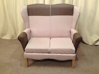 Shackleton's High Wing Back 2 Seater Sofa - Banbury Settee