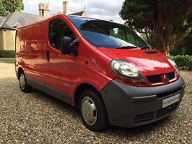 *_*_* 2002 RENAULT TRAFIC SL27 DCI 100 SWB VAN SWAP OR PX WELCOME *_*_*