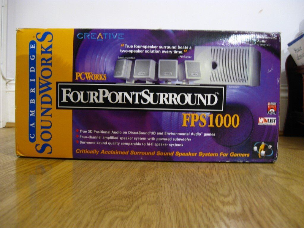 4-Point Surround Sound System